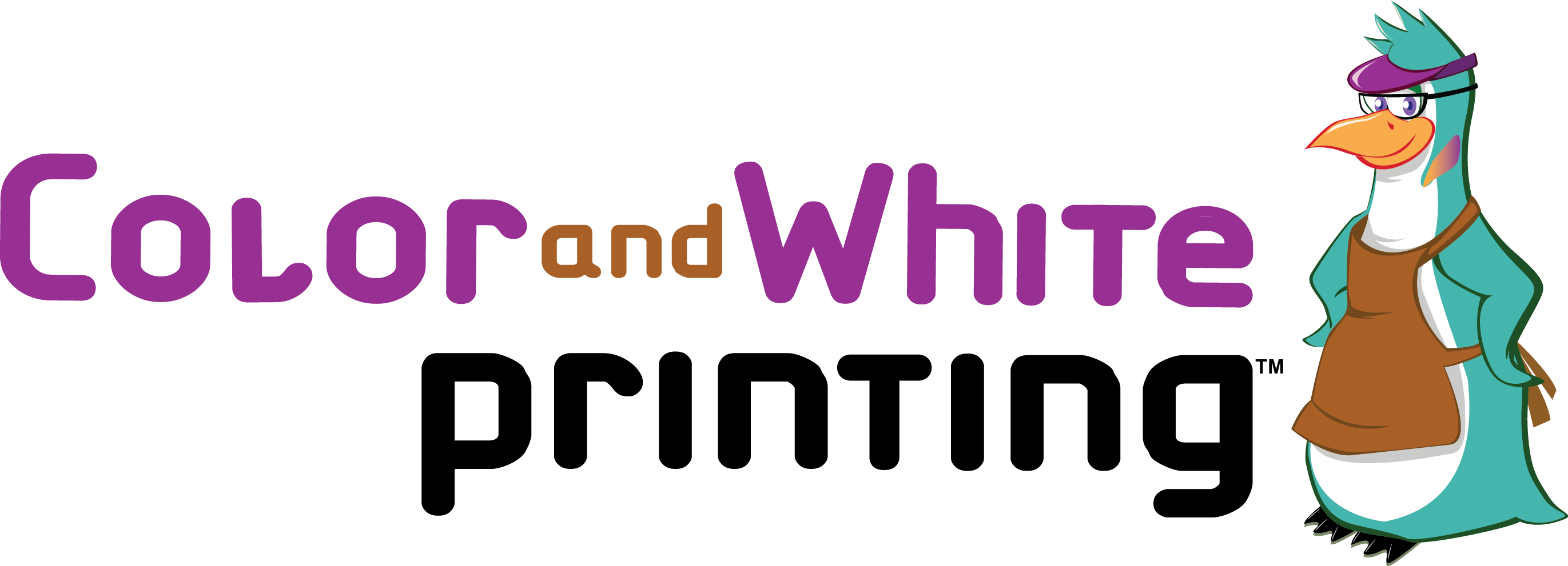 Color-and-White Printing